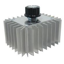 Мощный Электронный регулятор напряжения 5000 Вт 220 В с корпусом