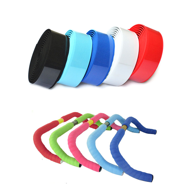 Microfiber Road Bike Handlebar Tape Durable Comfortable Cycling Race Bicycle Handlebar Grips Tapes +2 Bar Plugs Belt Straps