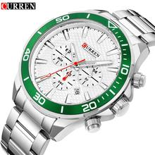2018 Top Brand Luxury Watch CURREN 8309 New Fashion&Casual Simple Men Business Watches Classic Dial Stainless Steel Quartz Watch