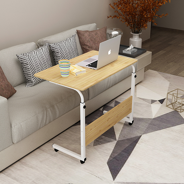 Dormitory lazy table simple desk domestic desktop computer table movable bedside table lifting small table simple