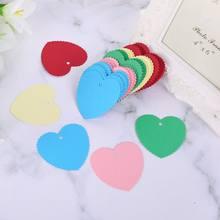 Étiquettes cadeaux en papier Kraft 100 pièces | Vierges, étiquettes suspendues, cartes de prix avec ficelle de noël, artisanat pour fête de mariage