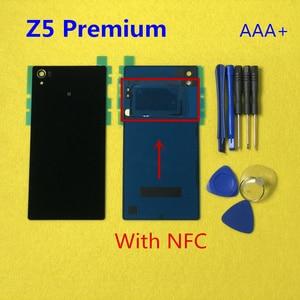 Image 5 - Original Housing Rear Back Battery Door Cover Case With NFC For Sony Xperia Z5 E6603 E6653 E6633 E6683 Z5 Premium E6853 E6883