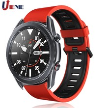 Correa de silicona de 22mm para reloj Samsung Galaxy 3, 45mm/Gear S3, pulsera deportiva para Galaxy Watch de 46mm