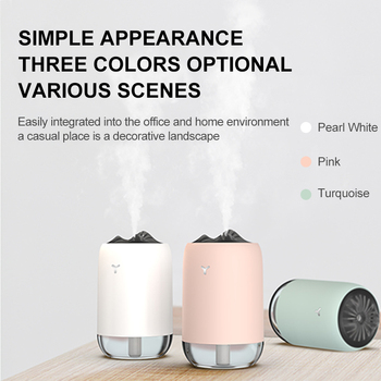2020 New Aromatherapy Air Humidifier 250ml Colorful Atmosphere Lights Essential oil Diffuser USB Aroma Diffuser For Home Office 2019 new aromatherapy humidifier 350ml blue light atmosphere aroma essential oil diffuser air diffuser humidifier for home