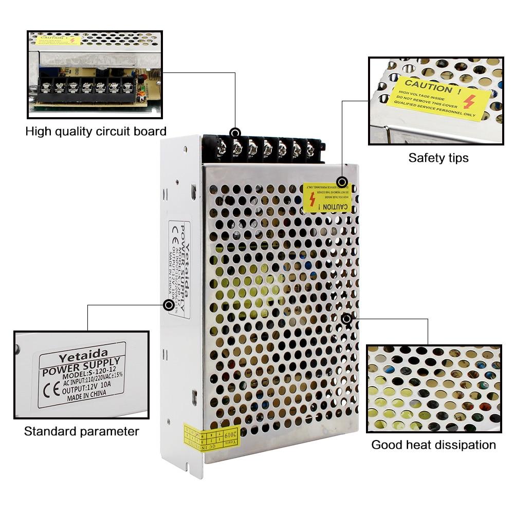 Power Supply 18V 36V 48V Lighting Transformer 54W 180W 200W 360W 540W Power Supply 220V To 18 36 48 Volt Alimentation LED Driver