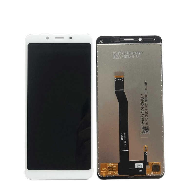 ل شاومي redmi 6 في شاشات LCD للهواتف المحمول + الإطار حافة 6pro عرض 6A محول الأرقام بشاشة تعمل بلمس قطع تجميع LCD إصلاح الشاشة