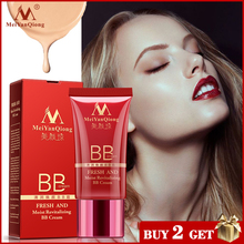 цена на MeiYanQiong Fresh And Moist Revitalizing BB Cream Makeup Face Care Whitening Compact Foundation Concealer Prevent Bask Skin Care