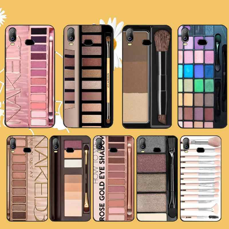 Penghuwan Naked Palette Mode Glam Make-Up Palet Klant Telefoon Case Voor Samsung A10 A20 A30 A40 A50 A70 A71 A51 a6 A8 2018