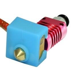 Zestawy ulepszonych wytłaczarek MK10 24V 50W kabel grzejny 100K termistor drukarka 3D głowica J Hotend do wytłaczarki 1.75mm 0.4mm Noz w Części i akcesoria do drukarek 3D od Komputer i biuro na
