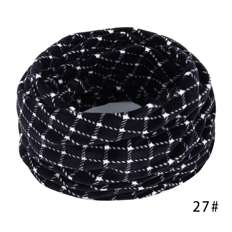 Новинка, осенне-зимний женский шарф с принтом для женщин, модный бархатный тканевый шарф, мягкий удобный женский винтажный шарф - Цвет: 27