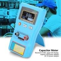 MEC 100 Capacitor Meter  High Precision Digital Display Automatic Range Electrolytic Capacitance ESR Meter Capacitor Meter Teste|Capacitance Meters| |  -