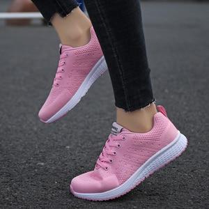 Image 5 - Tenis Feminino אישה טניס נעלי 2019 מכירה לוהטת ספורט נעלי נשי יציבות ספורט כושר כושר גרב נעל מאמני