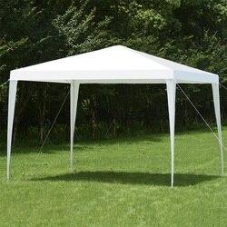 'X' Outdoor Wedding Party Tenda A Baldacchino Bianco Gazebo per il Giardino OP3591
