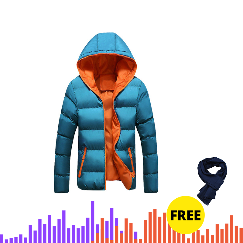 Drop Shipping Man Parka Jas Mens Solid Dikke Jassen Man Winter Parka 2019 Winter Mens Katoen Slim Fit jas
