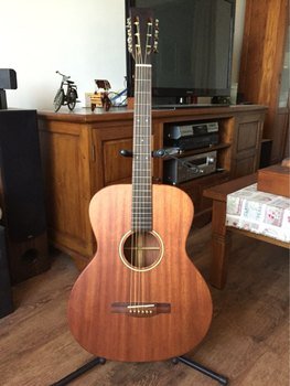 free shipping OOO body fully solid mahogany wood acoustic guitar customize slot headstock classcial acoustic guitar free shipping 12 string guitar grand auditorium body armrest bevelled cutway 12 strings solid acoustic electric guitar