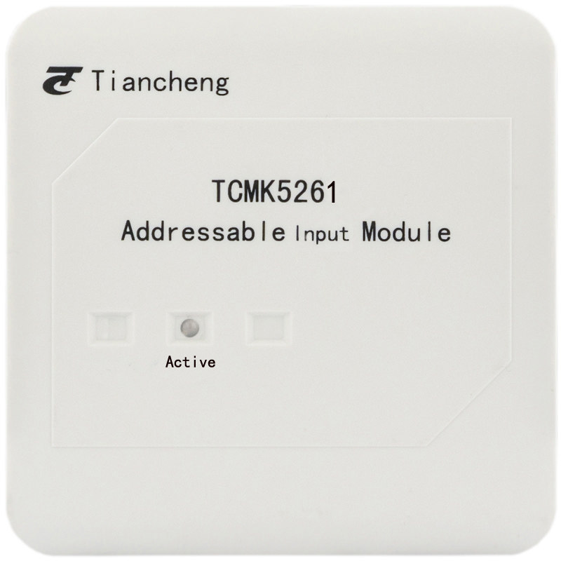 Addressable Fire Alarm Firefighting Input Monitor Module TCMK5261 With LPCB  Input Module For TC Addressable System