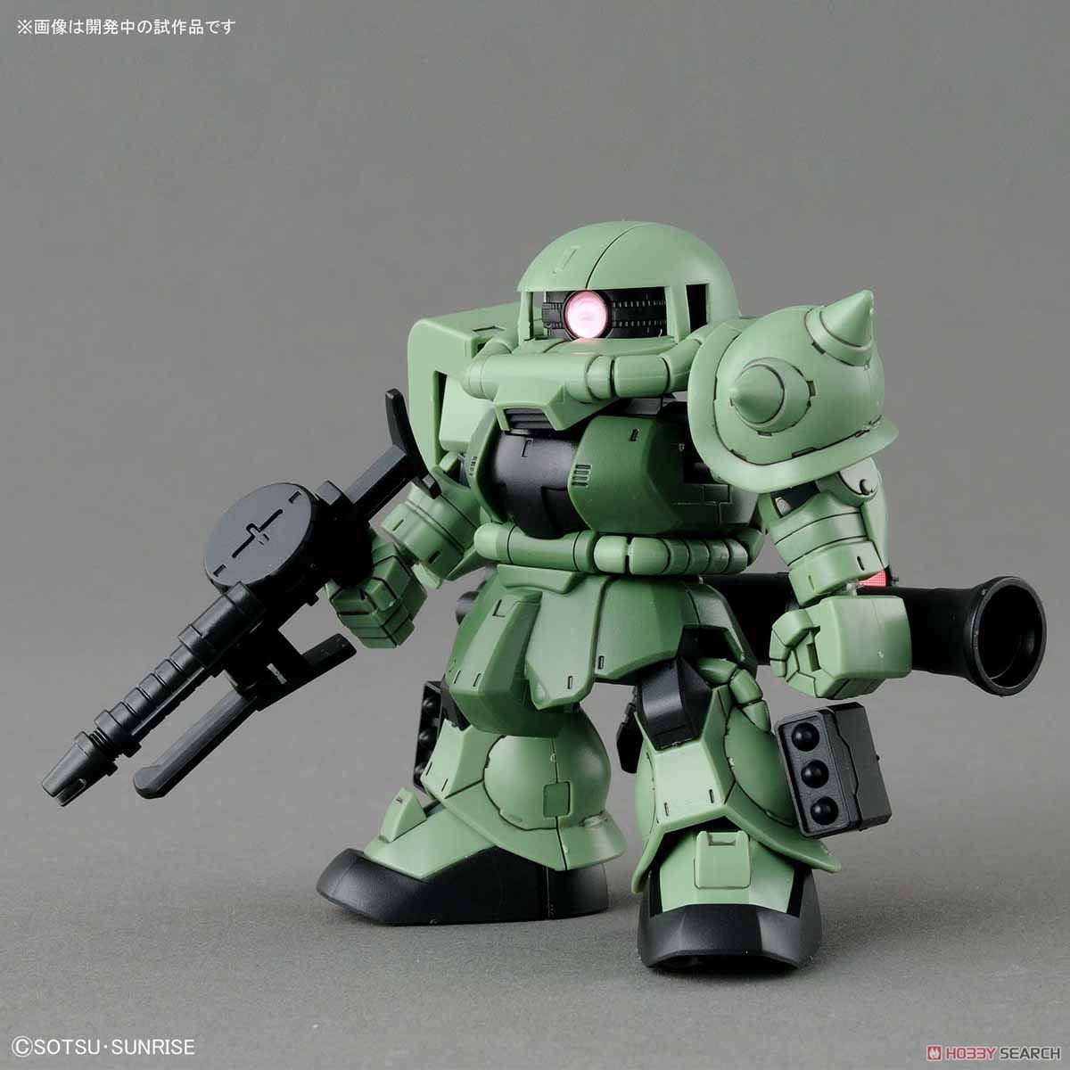 <font><b>Gundam</b></font> SDCS 004 <font><b>BB</b></font> Cross Silhouette Zaku II Mobile Suit Assemble Model Kits Action Figures Children's toys (44) image