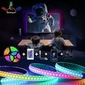 ТВ окружающей среды светильник полосы 12V Водонепроницаемый 5050/2835 Светодиодные ленты светильник Bluetooth окружающей среды светильник ТВ светод...