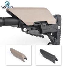 WADSN Airsoft Cheek Riser di Alta Stile CTR Cheek Resto Riser di Alta Per AR/M4 Applicazione Militare Softair Fucile Da Caccia accessori