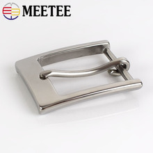 1pc Stainless Steel Belt Buckle Men Cowboy Metal Pin Buckles Head For 33-34mm Jeans Accessories DIY Leather Craft