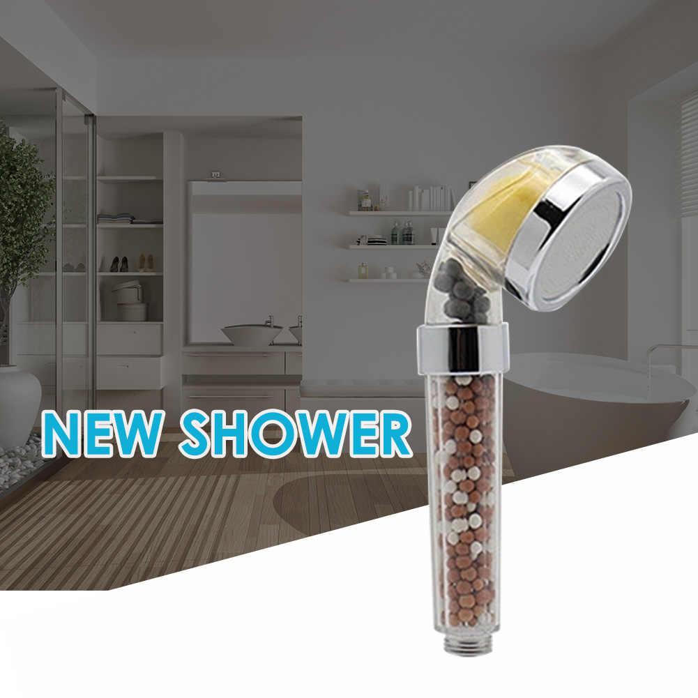 Saving Plastic High Pressure Spray Sprinkler Handheld Shower Head Bathroom