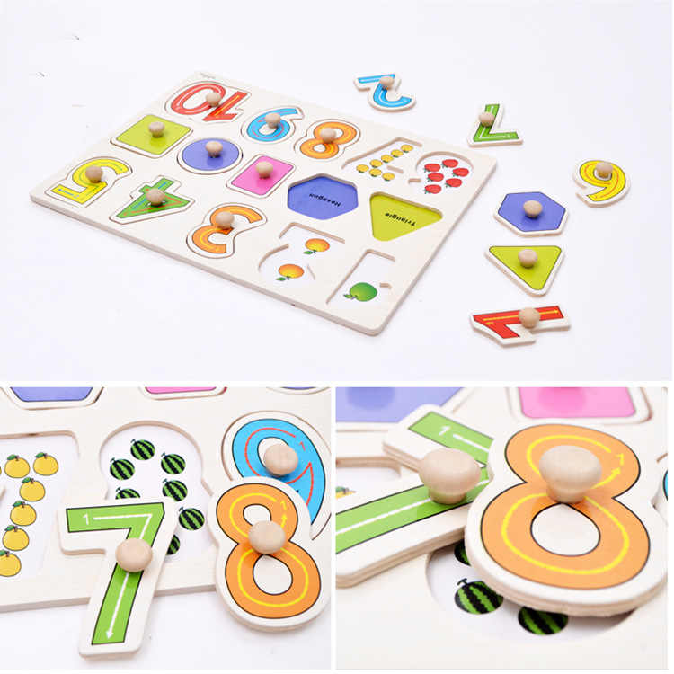 30 Cm Cho Bé Đồ Chơi Montessori Xếp Hình Bằng Gỗ Tay Lấy Ban Giáo Dục Gỗ Đồ Chơi Ghép Hình Cho Trẻ Em Hoạt Hình Hình Xe Trẻ Em Quà Tặng