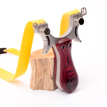 Slingshot Catapult Hunting High Quality Stainless steel With Rubber Band Outdoor Shooting Game sling shot недорого