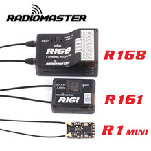 Radiomaster r1mini/r161/r168 2.4g 8ch/16ch d8/d16 mini receptor para tx16s se jumper t18 frsky x9d x-lite transmissores