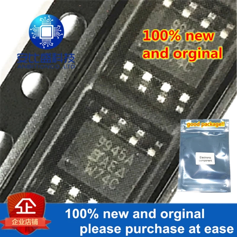 10pcs 100% New And Orginal SI9945AEY-T1-E3 SI9945A SOP-8 N 60V 3.7A MOS In Stock
