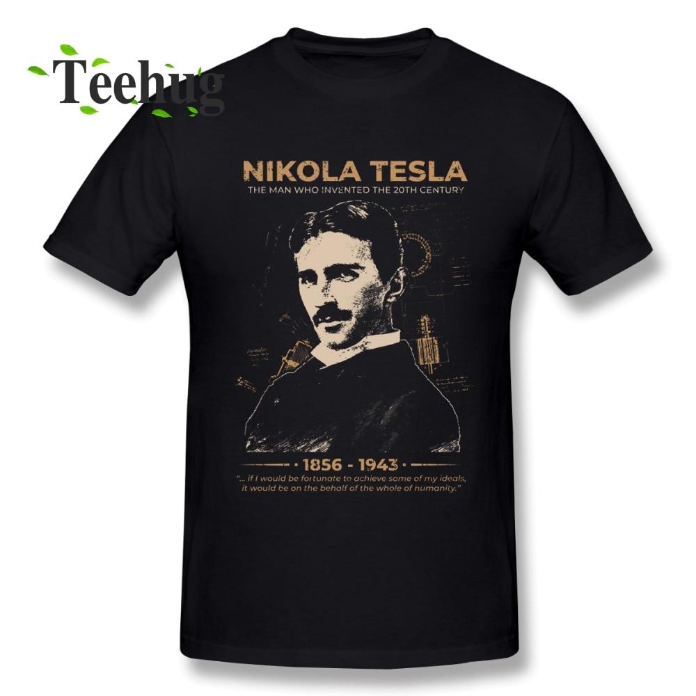 Hipster Nikola Tesla   T     Shirt   Plus Szie Tee Man Leisure Unique For Man Graphic Top Tees Fashion New Arrivla Top design