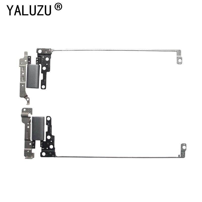 YALUZU LCD Screen Hinge L & R LCD Hinges Set For DELL INSPIRON 13MF 5378 5379 13-5378 13-5379 13-5368 5368 P69G