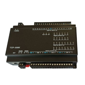 TZT 12DO Relay Output 16DI Switch Input RJ45 Ethernet RS485+232 TCP Module Modbus Controller TCP-508K