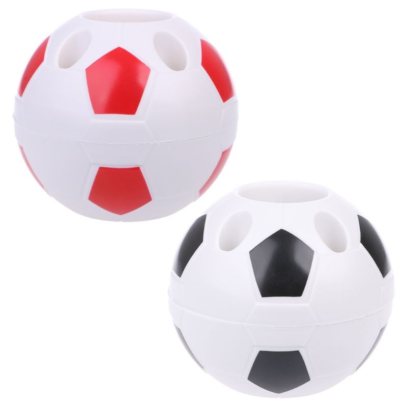 Creative Football Pen Holder Toothbrush Container Multifunction Office Organizer