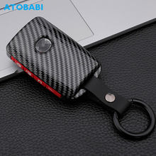 Carbon Abs Plastic Autosleutel Cover Voor Mazda 3 Sedan 2019 2020 / CX-9 CX-5 2020 Smart Sleutelhanger Afstandsbediening Sleutel fob Shell Protector Case