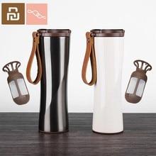 MOKA taza de café KKF Kisskissfish al vacío, termo portátil de acero inoxidable 304 con pantalla táctil LED, botella de agua para xiaomi Smart Home