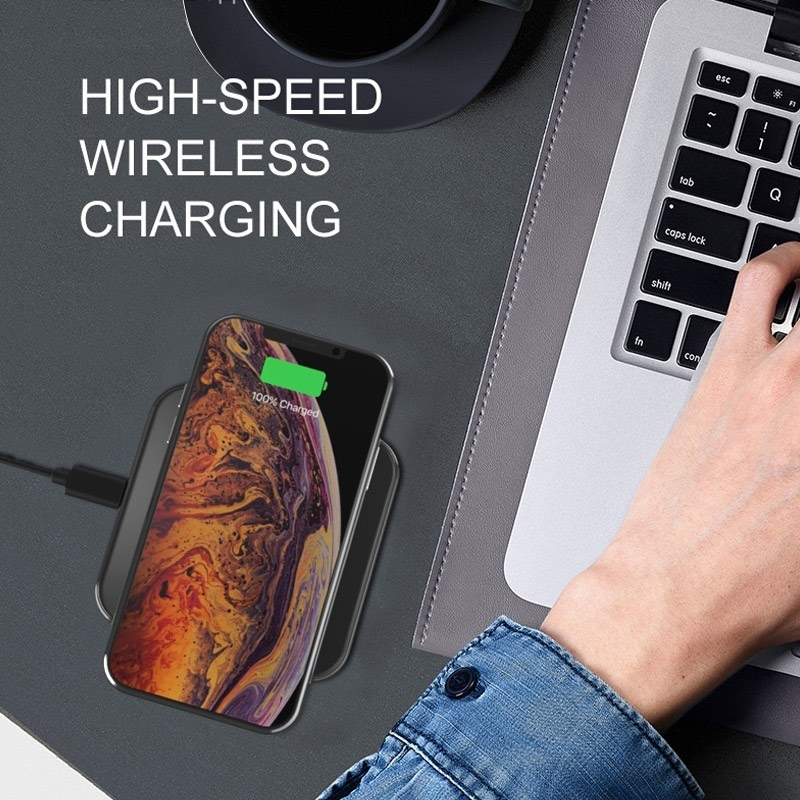 15W QI Wireless Charger Universal Quick Charging USB Fast Charger QC 3.0 Phone Charger Station For iphone 11 Samsung s9 Xiaomi 6