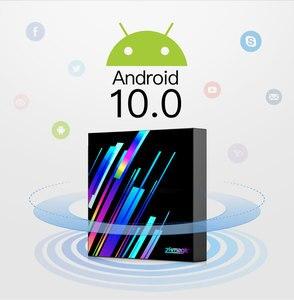 Image 2 - 2020 החדש אנדרואיד 10.0 טלוויזיה תיבת Allwinner H616 Quad Core 2GB 4GB 16GB 32GB Google מדיה נגן 6K חכם טלוויזיה תיבת Z3 +