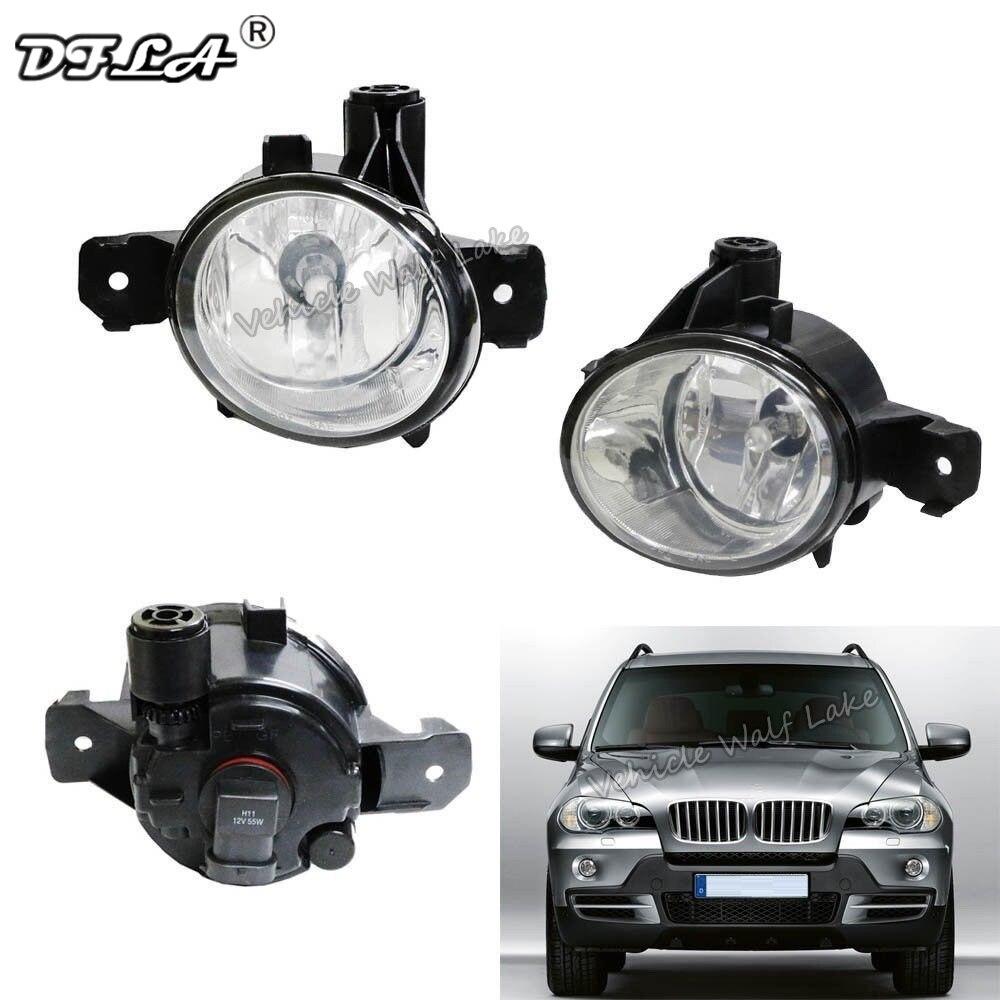 Car Light For BMW X5 E70 X1 E84 M X3 E83 E82 E87 E88 Car-styling Front Halogen Fog Light Fog Lamp