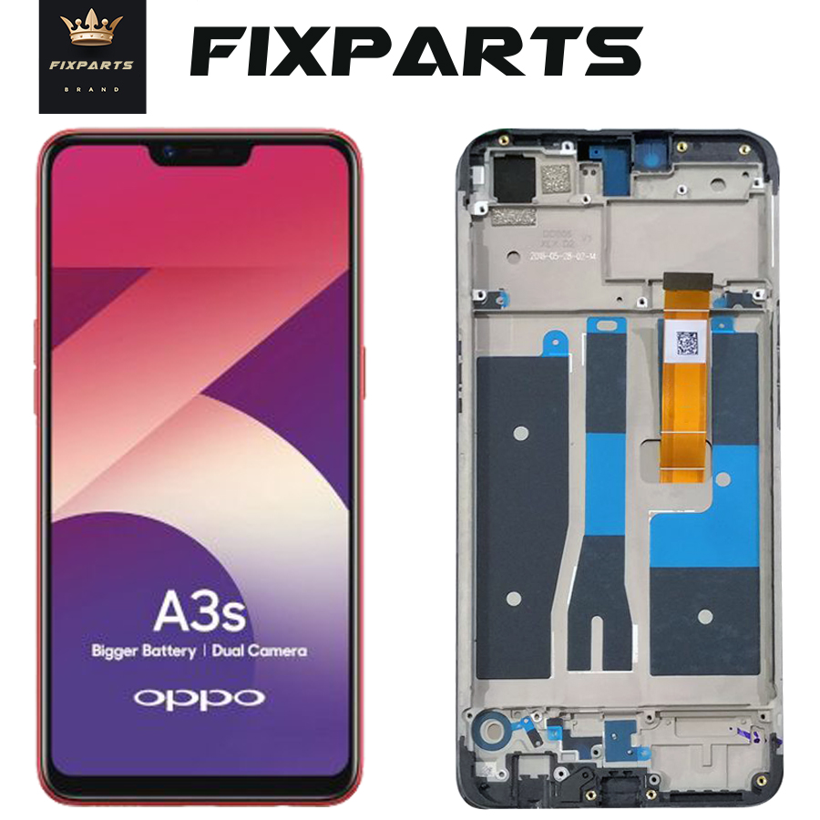 <font><b>LCD</b></font> Display <font><b>A5</b></font> <font><b>OPPO</b></font> A3S <font><b>LCD</b></font> Touch Screen Digitizer CPH1803 CPH1805 Full Asselbly Replacement F7 <font><b>OPPO</b></font> A3 <font><b>LCD</b></font> CPH1819 CPH1821 image
