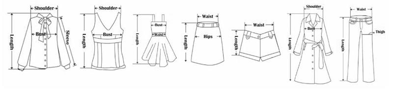 测量衣服方法
