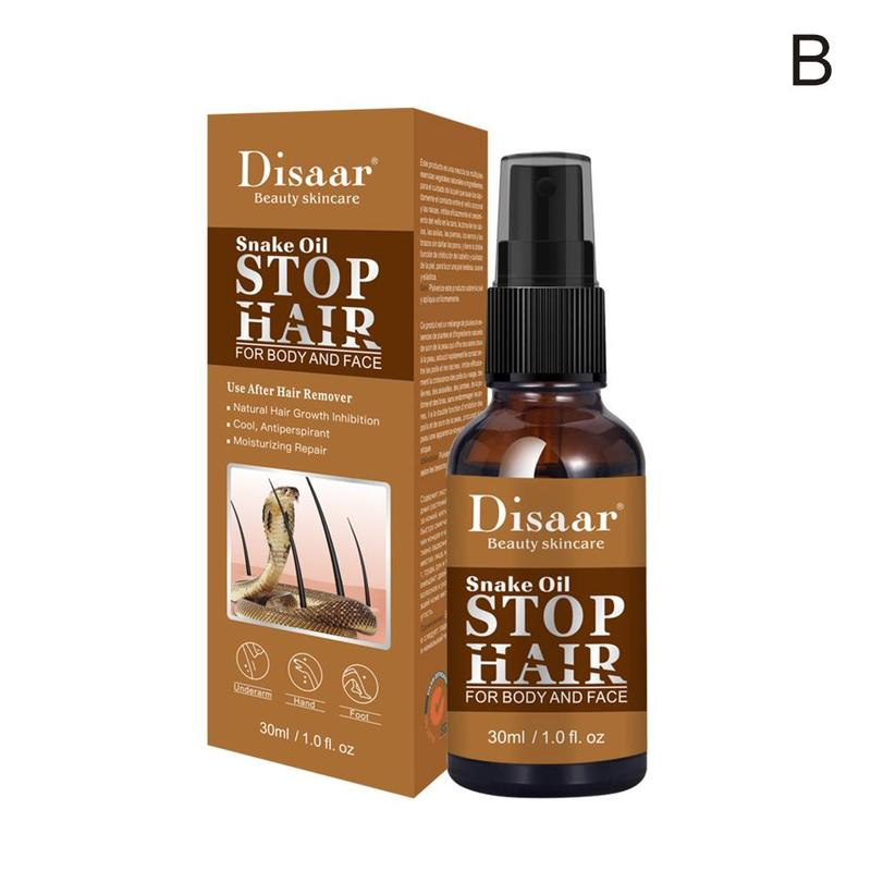 30ml Powerful Permanent Painless Skin Smooth Repair Body Care Oil Hair Removal Spray Stop Hair Growth Inhibitor Shrink Pores