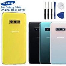 Original Samsung Battery Cover Housing for Galaxy S10e S10E SM-G9700 Back Rear Case
