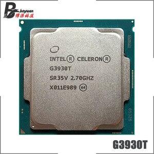 Intel Celeron G3930T 2.7 GHz Dual-Core Dual-Thread 35W CPU Processor LGA 1151