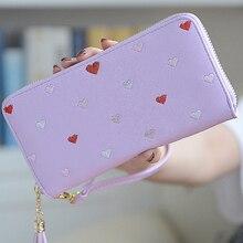 MONNET CAUTHY New Arrivals Purse for Women Classic Fashion Zipper High Capacity Multi-card Slot Long Wallets Color Purple Wallet