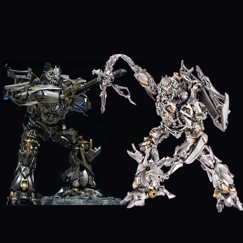 Lensple MPM08 MPM 08 трансформация Galvatron Мега негабаритный сплав оригинальный большой фигурка KO Робот Игрушки