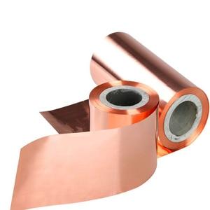 Image 3 - 銅箔テープシールドシート 100 ミリメートル/200 ミリメートル * 1 メートル両面導電性ロール回避のため電圧と電流