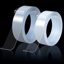 3M nastro biadesivo Traceless riutilizzabile impermeabile high scotch Tape nastro Nano magico trasparente per cucina domestica