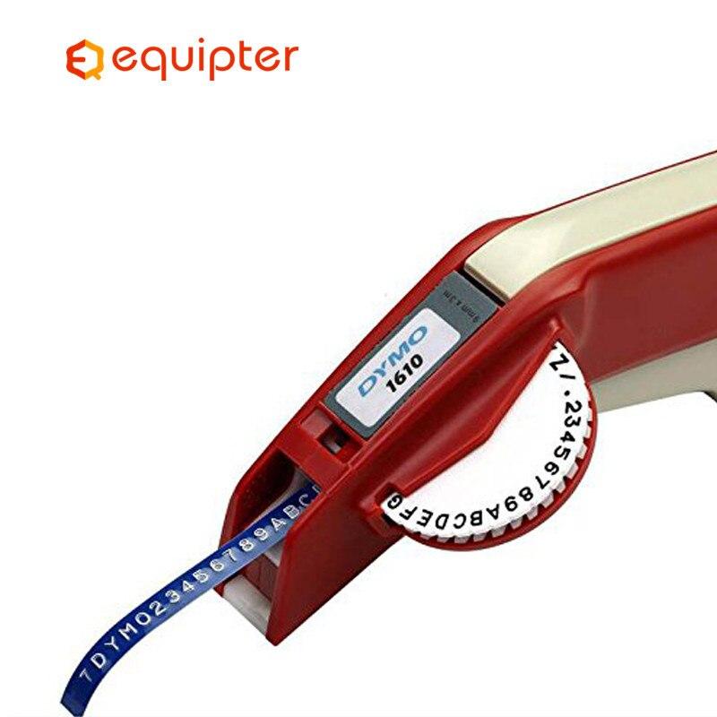 Dymo 1610 Manual Label Maker For 3D Embossing Plastic 1610 Manual Label Printer 1610 For Dymo Organizer Xpress Manual Machine