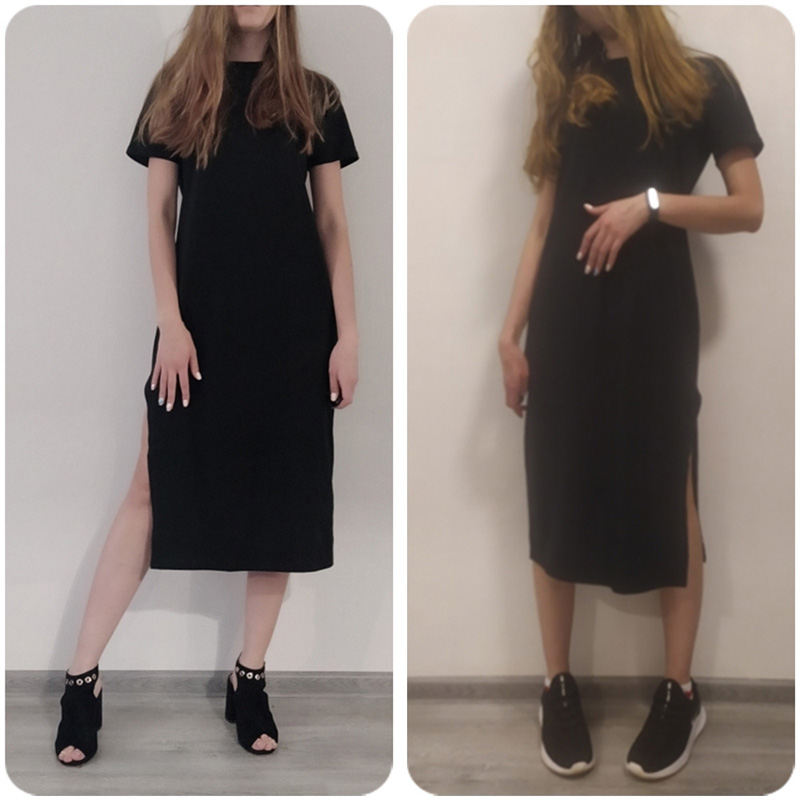 H2f86c3134f84481397efa9bea250c89dC - Maxi T Shirt Dress Women Summer Beach Sexy Party Vintage  Bodycon Casual Korean Style Cotton Home Black Long Dresses Plus Size