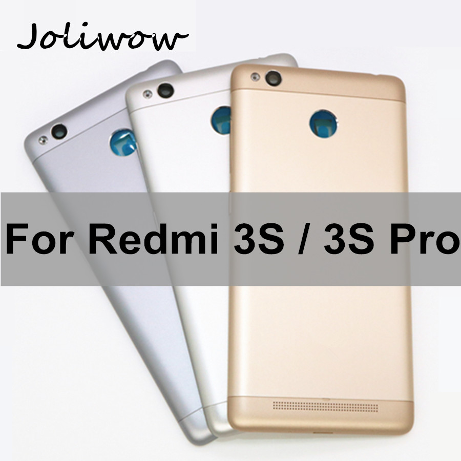 For Xiaomi <font><b>Redmi</b></font> <font><b>3S</b></font> Back <font><b>Battery</b></font> Door <font><b>Cover</b></font> Housing with Camera Lens + Power Button Replacement for <font><b>Redmi</b></font> 3 Pro <font><b>Battery</b></font> <font><b>Cover</b></font> image
